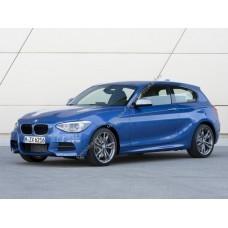 Силиконовая тонировка на статике для BMW 1-Series 2012, хэтчбек 3 двери , 2 поколение, F21 (09.2012 - 03.2014)