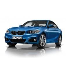 Силиконовая тонировка на статике для BMW 2-Series 2014, купе, 1 поколение, F22 (03.2014 - 05.2017)