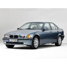 Силиконовая тонировка на статике для BMW 3 седан 5 дверей, 3 поколение, E36 (10.1990 - 02.1998)