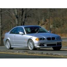 Силиконовая тонировка на статике для BMW 3 E46 купе 1998-2006