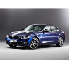 Силиконовая тонировка на статике для BMW 3 F30 кузов седан, VI пок. (рест. 2015 - 2018)