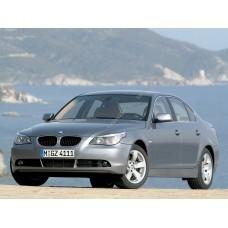 Силиконовая тонировка на статике для BMW 5 E60 2003-2010