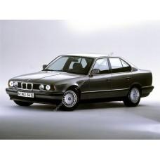 Силиконовая тонировка на статике для BMW 5 E34 1988-1995
