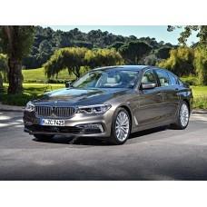 Силиконовая тонировка на статике для BMW 5 7 поколение, G30 (10.2016 - н.в.)