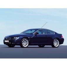 Силиконовая тонировка на статике для BMW 6 купе, 2 поколение, E63 (09.2003 - 08.2010)
