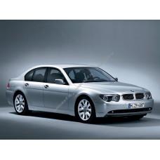 Силиконовая тонировка на статике для BMW 7 4 поколение E65, 66 (2001 - 10.2008)