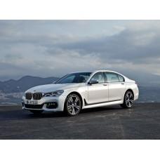 Силиконовая тонировка на статике для BMW 7 G11, G12 2015-н.в.