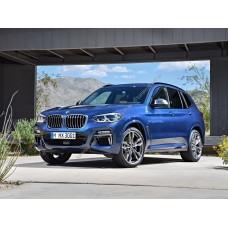 Силиконовая тонировка на статике для BMW X3 G01 2017-н.в.