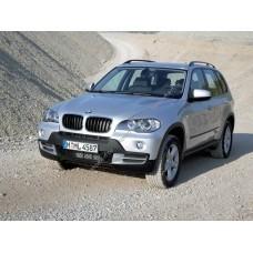 Силиконовая тонировка на статике для BMW X5 Е70 2006-2013
