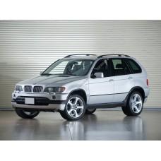 Силиконовая тонировка на статике для BMW X5 E53 1999-2006