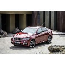 Силиконовая тонировка на статике для BMW X6 F16 2014-н.в.