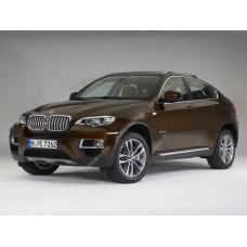 Силиконовая тонировка на статике для BMW X6 E71 2008-2014