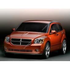 Силиконовая тонировка на статике для Dodge Caliber 2006, хэтчбек, 1 поколение (01.2006 - 2011)