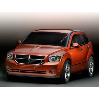 Купить силиконовую тонировку на статике для Dodge Caliber 2006, хэтчбек, 1 поколение (01.2006 - 2011) можно в магазине Тонировка-РФ.ру