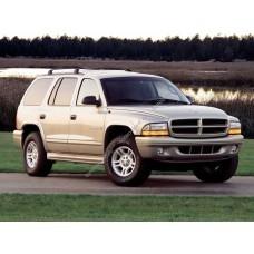Силиконовая тонировка на статике для Dodge Durango / Dakota 1997-2003