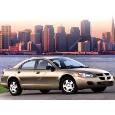 Силиконовая тонировка на статике для Dodge Stratus седан, 2 пок. 2000-2006