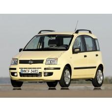 Силиконовая тонировка на статике для Fiat Panda, хэтчбек 5 дв., 2 поколение, 169 2003 - 2012