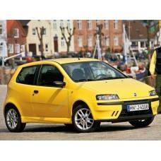 Силиконовая тонировка на статике для Fiat Punto хэтчбек 3 дв., 2 поколение, 188 1999 - 2007