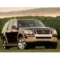 Силиконовая тонировка на статике для Ford Explorer 2002-2011 3,4 поколение