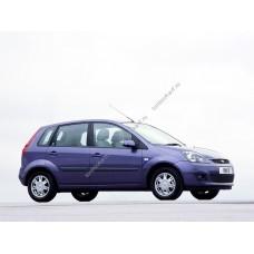 Силиконовая тонировка на статике для Ford Fiesta Mk V 5d 2001-2008