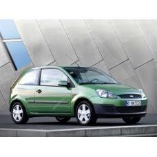 Силиконовая тонировка на статике для Ford Fiesta 3d 2001-2008