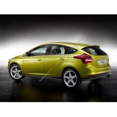 Силиконовая тонировка на статике для Ford Focus 3 2011-н.в.
