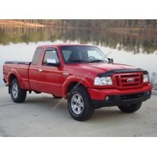 Силиконовая тонировка на статике для Ford ranger 2006-2011 2 поколение