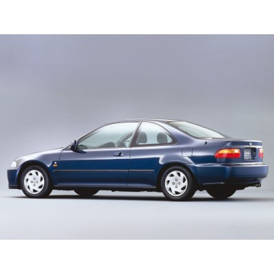 Купить силиконовую тонировку на статике для Honda civic coupe 3d, 5 поколение 1991-1995 можно в магазине Тонировка-РФ.ру