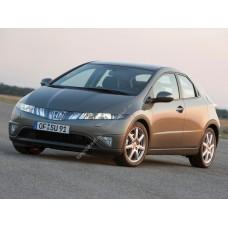 Силиконовая тонировка на статике для Honda Civic хэтчбек 5d 2006-2009