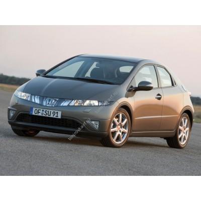 Купить силиконовую тонировку на статике для Honda Civic хэтчбек 5D, 8 поколение, FK, FN (2006 - 03.2012) можно в магазине Тонировка-РФ.ру