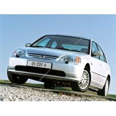 Силиконовая тонировка на статике для Honda Civic седан 2001-2006