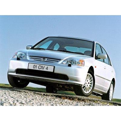 Купить силиконовую тонировку на статике для Honda Civic седан, 7 поколение, ES (2001 - 06.2006) можно в магазине Тонировка-РФ.ру