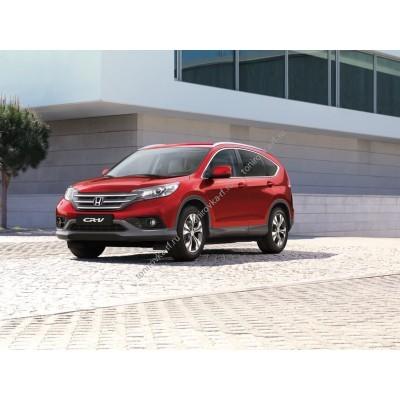 Купить силиконовую тонировку на статике для Honda CR-V 4 поколение, RE, RM (08.2012 - 2017) можно в магазине Тонировка-РФ.ру