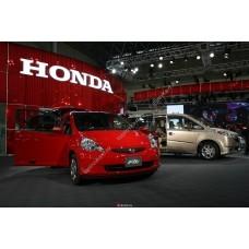 Силиконовая тонировка на статике для Honda Fit GD 2001-2007