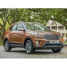 Силиконовая тонировка на статике для Hyundai Creta