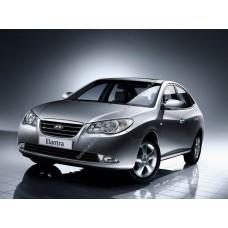 Силиконовая тонировка на статике для Hyundai Elantra 2006-2012