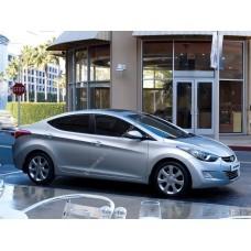 Силиконовая тонировка на статике для Hyundai Elantra 2011-2015