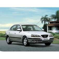Силиконовая тонировка на статике для Hyundai Elantra III поколение 2000-2006
