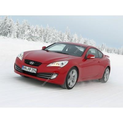 Купить силиконовую тонировку на статике для Hyundai Genesis купе, 1 поколение 09.2009 - 03.2014 можно в магазине Тонировка-РФ.ру