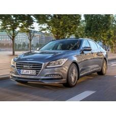 Силиконовая тонировка на статике для Hyundai Genesis седан, 2 поколение (04.2014 - 03.2017)
