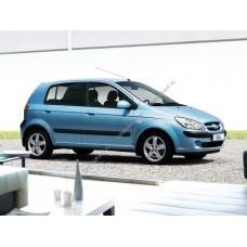 Силиконовая тонировка на статике для Hyundai Getz