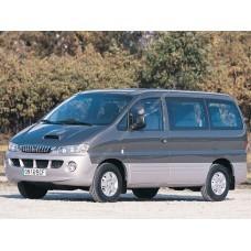 Силиконовая тонировка на статике для Hyundai H1 1997-2007