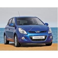 Силиконовая тонировка на статике для Hyundai i20 2009-н.в.