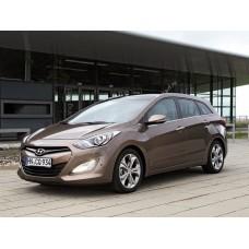 Силиконовая тонировка на статике для Hyundai i30 2011-2017