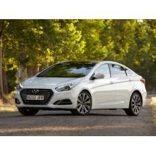 Силиконовая тонировка на статике для Hyundai i40 1 поколение