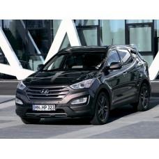 Силиконовая тонировка на статике для Hyundai Santa Fe 3 2012-2017