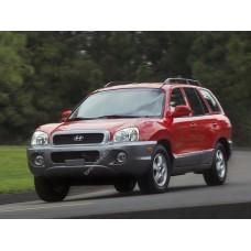 Силиконовая тонировка на статике для Hyundai Santa Fe 1 2000-2006 - первый кузов