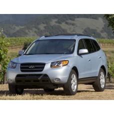 Силиконовая тонировка на статике для Hyundai Santa Fe 2 2006-2013 - второй кузов