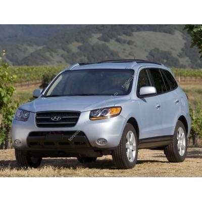 Купить силиконовую тонировку на статике для Hyundai Santa Fe 2 2006-2013 - второй кузов можно в магазине Тонировка-РФ.ру