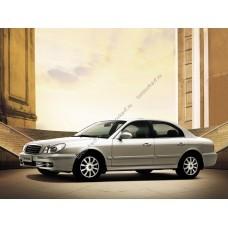 Силиконовая тонировка на статике для Hyundai Sonata (EF) 1998-2013
